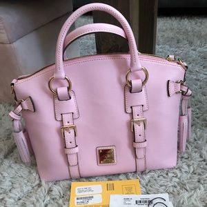 Dooney & Bourke Light Pink Bristol Satchel